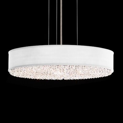 Eclyptix 6-Light Drum Pendant Finish: Heritage Clear