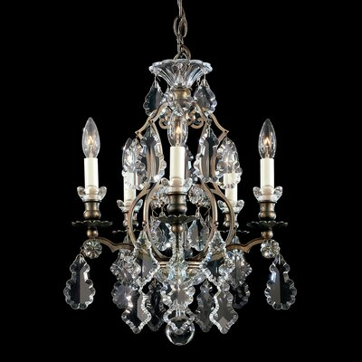 Versailles 5-Light Crystal Chandelier