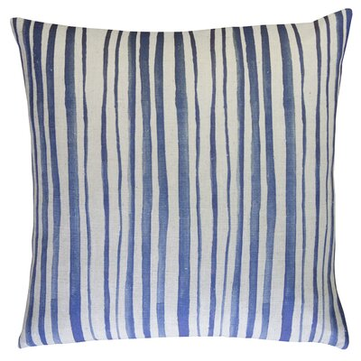 Batik Stripe Throw Pillow
