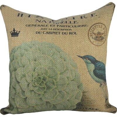 Blue Bird Pillow