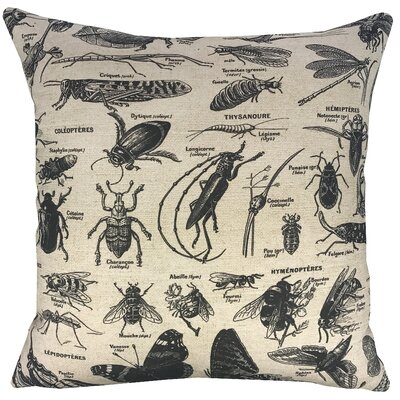 Bugs Throw Throw Pillow