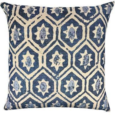 Diamond Indigo Throw Pillow