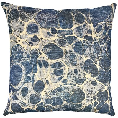 Marbled Shibori Throw Pillow