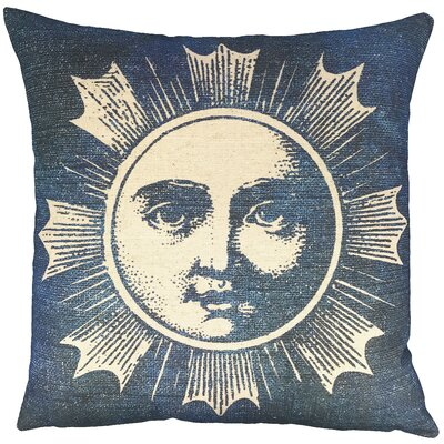 Moon Batik Throw Pillow