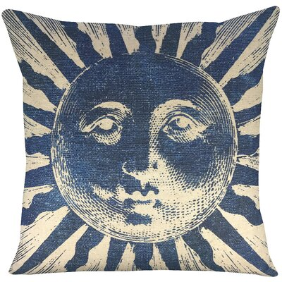 Sun Batik Throw Pillow