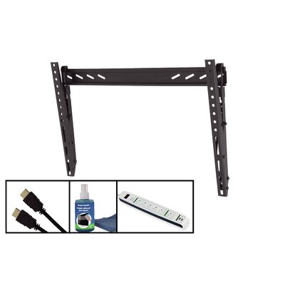 Tilt TV Wall Mount Kit for 37-65 Flat Panel Screen
