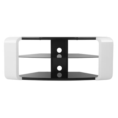 46 TV Stand Color: White