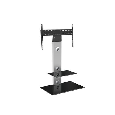 28 TV Stand Color: Silver/Black