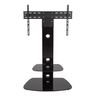 Lucerne Wall Mount for 32-65 Flat Panel Screens Finish: Black