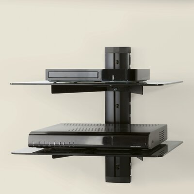 AV Wall Mounted Component Shelving System AS200-A