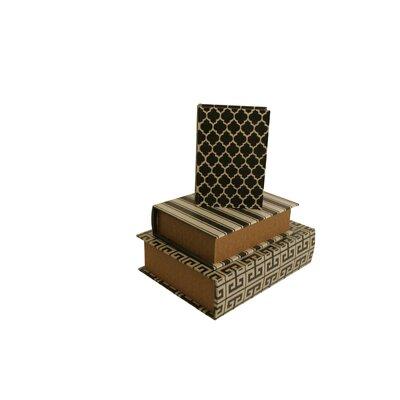 Winifred 3 Piece Book Storage Box Set