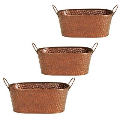 WaldImports Oval Pot Planter (Set of 3)