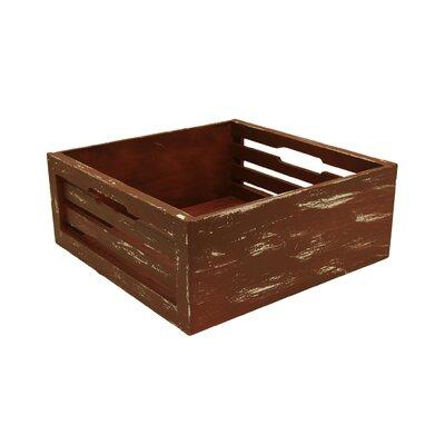 Red Slat Crate Box FL5022