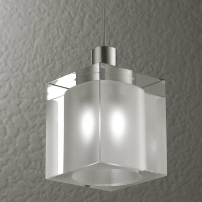 Alume 1-Light Pendant Light Mounting Type: With Aluminum Square Junction Box Cover