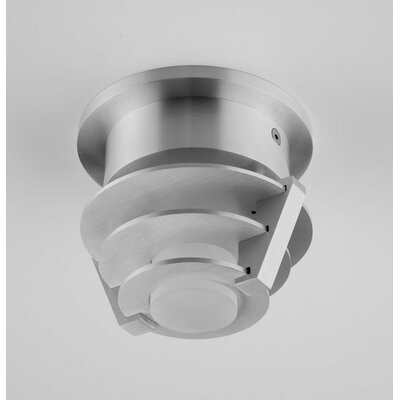 Alume 1-Light Flush Mount Mounting Type: With Aluminum Square Junction Box Cover