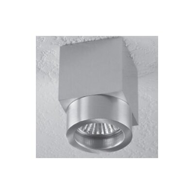 Alume 1-Light Ceiling Accent Light Mounting Type: Without Aluminum Square Junction Box Cover