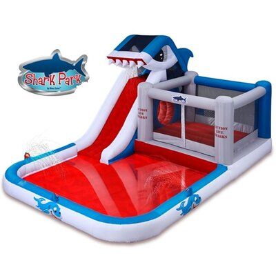 Blast Zone Shark Park Water Slide and Bounce House at Sears.com