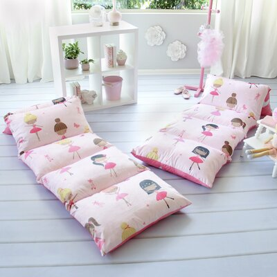 Homedale Ballerina Themed Pillow Cover Size: 26 W x 88 L
