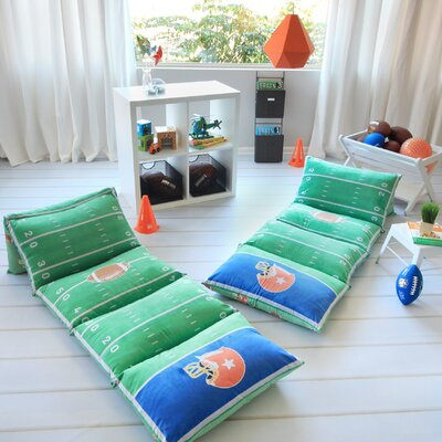 Hoogezand-Sappemeer Football Themed Pillow Cover Size: 32 W x 88 L