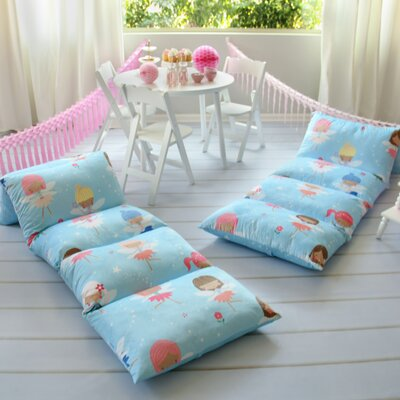 Hoopeston Fairy Themed Pillow Cover Size: 32 W x 88 L