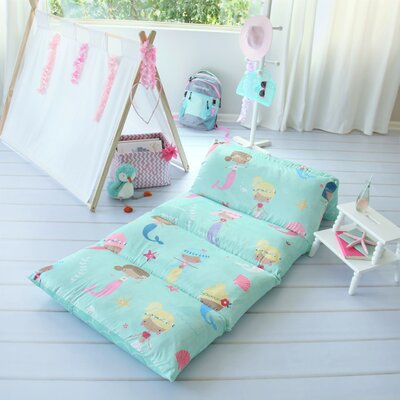 Bayliff Mermaid Themed Pillow Cover Size: 32 W x 88 L