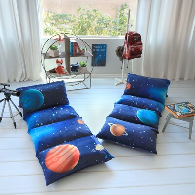 Hoople Galaxy Themed Pillow Cover Size: 32 W x 88 L