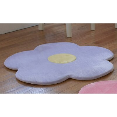 Baldree Daisy Flower Kids Rug