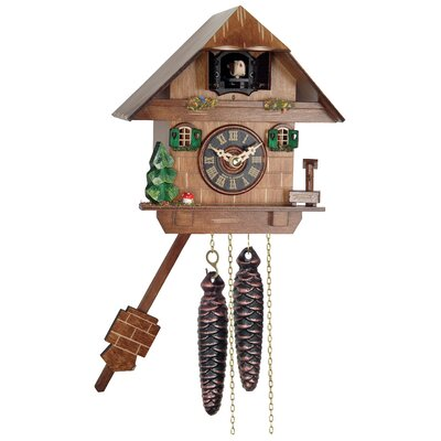 One Day Cottage Cuckoo Wall Clock 38-06