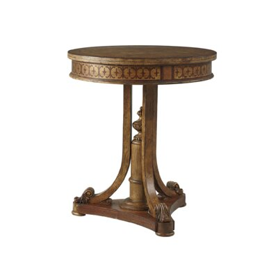 Linguist Lamp End Table