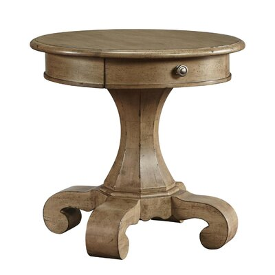 Maldon End Table Color: Copper