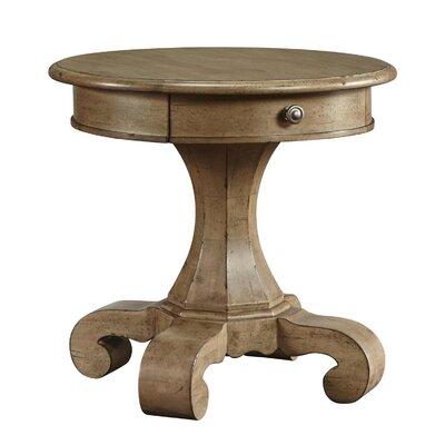 Maldon End Table Color: Copper