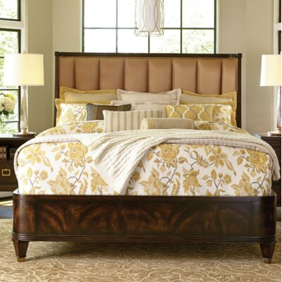 Stephen's Upholstered Panel Bed Size: King