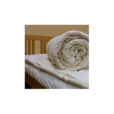 Organic 1.5 Mattress Topper Size: Twin