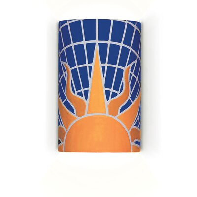 A19 Mosaic Solar 1 Light Wall Sconce - Bulb Type: Incandescent, Wet Location Compatible: Yes at Sears.com