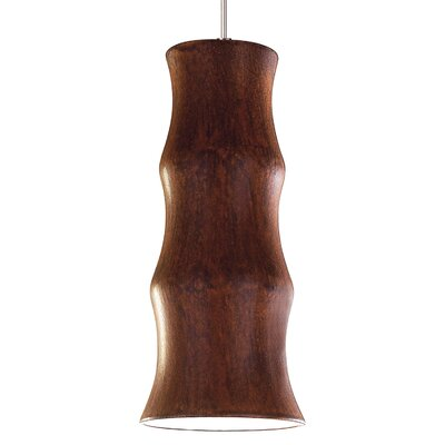 Chambers 1-Light Mini Pendant Finish: Butternut, Canopy and Transformer: With