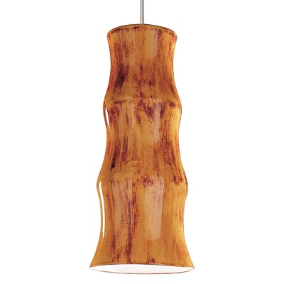 Chambers 1-Light Mini Pendant Finish: Desert Blaze, Canopy and Transformer: With