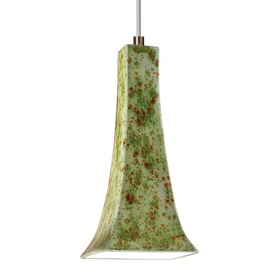 Eiffel 1-Light Mini Pendant Finish: Pistachio, Canopy and Transformer: With