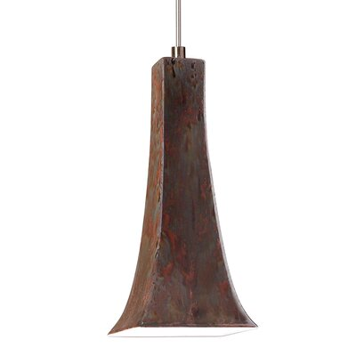 Eiffel 1-Light Mini Pendant Finish: Rainforest, Canopy and Transformer: With