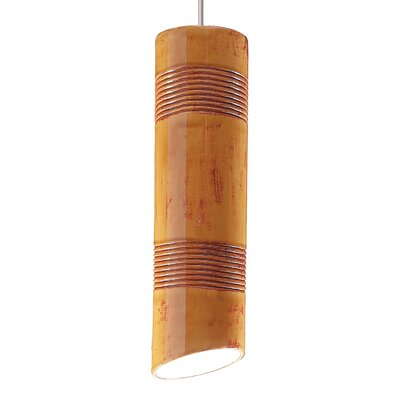 Raindance 1-Light Mini Pendant Finish: Desert Blaze, Canopy and Transformer: With