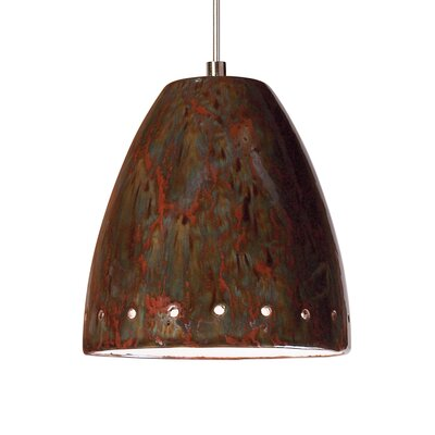 Realm 1-Light Mini Pendant Finish: Rainforest, Canopy and Transformer: With
