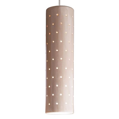 Stellar 1-Light Mini Pendant Finish: Tan, Canopy and Transformer: With