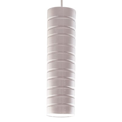 Strata 1-Light Mini Pendant Finish: White Gloss, Canopy and Transformer: With