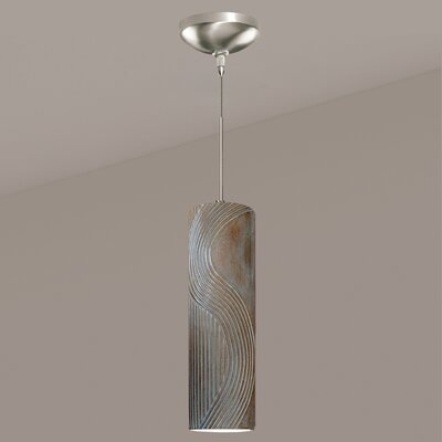 Crossroads 1-Light Mini Pendant Finish: Black Gloss, Canopy and Transformer: With