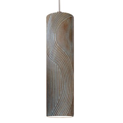 Crossroads 1-Light Mini Pendant Finish: Spice, Canopy and Transformer: With