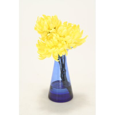 Waterlook Yellow Mums in Astarte Vase
