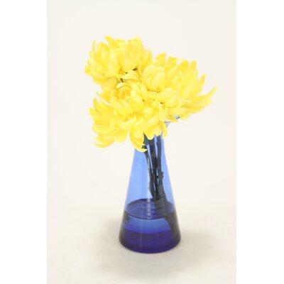 Waterlook Yellow Mums in Astarte Vase