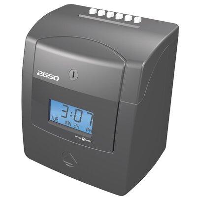 2650 Auto Aligning Time Clock