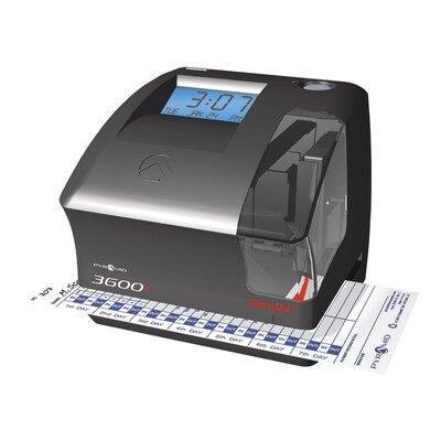3600SS SmartSite Time Clock and Document Stamp