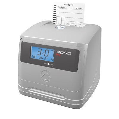4000 Pro Auto Totaling Time Clock