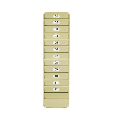 12 Pocket Badge Rack